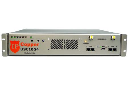 USC10G4 10G Fiber Packet Capture Appliance w/Bypass and GPS